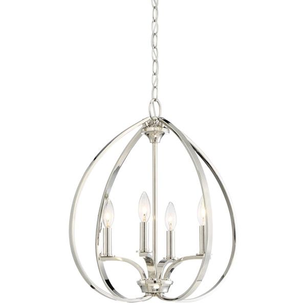 Minka Lavery Tilbury 4 Light Pendant - Silver