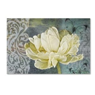 Cora Niele 'Classic Double White Tulip Ii' Canvas Art