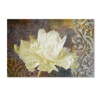 Cora Niele 'Classic Double White Tulip I' Canvas Art