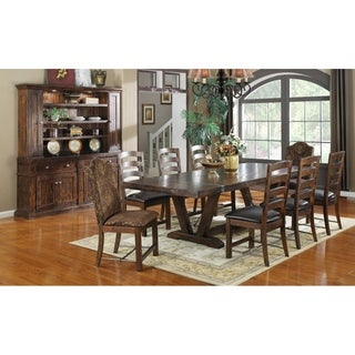 Emerald Home Castlegate Brown Dining Table