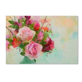 Cora Niele 'Rose Bouquet' Canvas Art