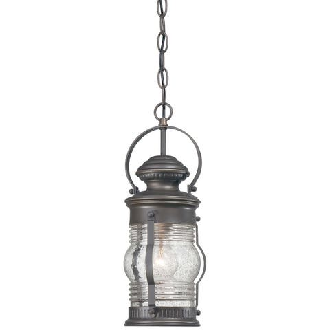 Lynnfield Oil Rubbed Bronze W/ Gold Highlights 1 Light Chain Hung By Minka Lavery