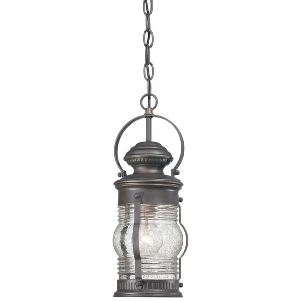 Lynnfield Oil Rubbed Bronze W/ Gold Highlights 1 Light Chain Hung By Minka Lavery. Opens flyout.