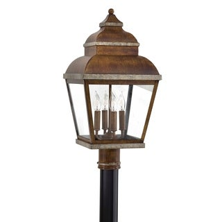 Minka Lavery Mossoro 4 Light Post Mount