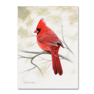 Chuck Black 'Beauty In Red' Canvas Art