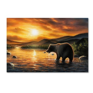 Chuck Black 'Persistence' Canvas Art