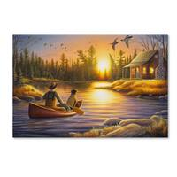 Chuck Black 'Best Friends Forever' Canvas Art
