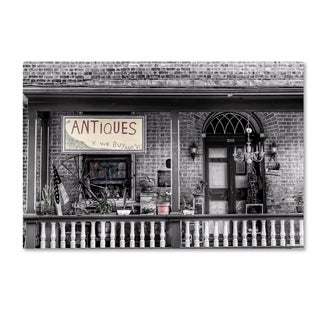 Bob Rouse 'Antiques Bw' Canvas Art