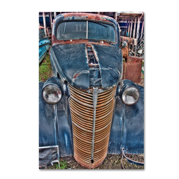 Bob Rouse '38 Chevy Sedan' Canvas Art