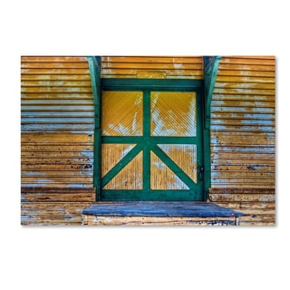 Bob Rouse 'Station Loading Door' Canvas Art