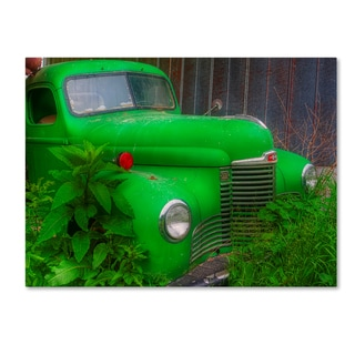 Bob Rouse 'Green Truck' Canvas Art