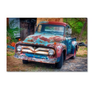 Bob Rouse 'Ford Truck' Canvas Art