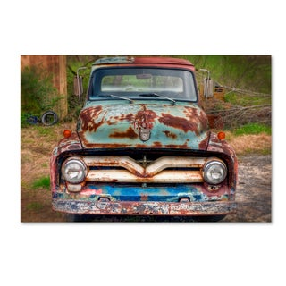 Bob Rouse 'Ford Truck Front' Canvas Art