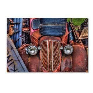 Bob Rouse 'Tires' Canvas Art