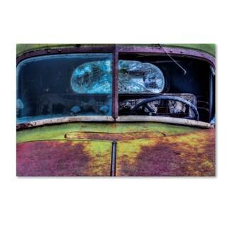 Bob Rouse 'Rusty Green' Canvas Art