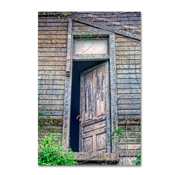 Bob Rouse 'Back Door' Canvas Art