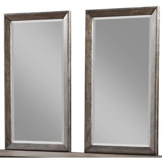 Emerald Home Millenium Weathered Oak Twin Mirror