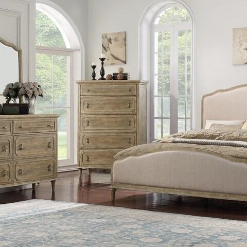 Emerald Home Interlude Sandstone 5-Drawer 2-Door Chest