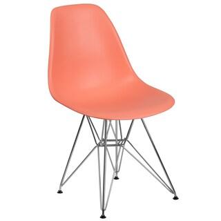 Elon Series Plastic Chair with Chrome Base