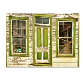 Bob Rouse 'mens house' Canvas Art