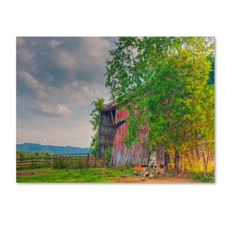 Bob Rouse 'mayberry barn' Canvas Art