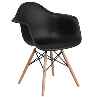 Plastic Side Chair/Wood Base|https://ak1.ostkcdn.com/images/products/18048829/P24213492.jpg?impolicy=medium