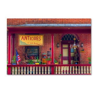 Bob Rouse 'Antiques' Canvas Art