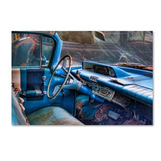 Bob Rouse '60 buick lesabre interior' Canvas Art