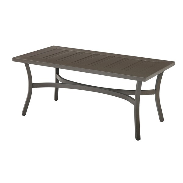 Chatham II Cappuchino Rectangular Outdoor Cocktail Table