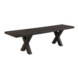 Emerald Home Metro II Fiber Reinforced Concrete Outdoor Bench
