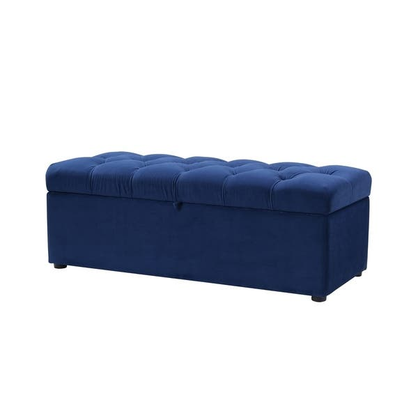 Brilliant Shop Jennifer Taylor Arlo Tufted Storage Bench 49Lx20 Gamerscity Chair Design For Home Gamerscityorg