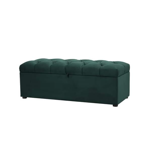 Fantastic Shop Jennifer Taylor Arlo Tufted Storage Bench 49Lx20 Gamerscity Chair Design For Home Gamerscityorg