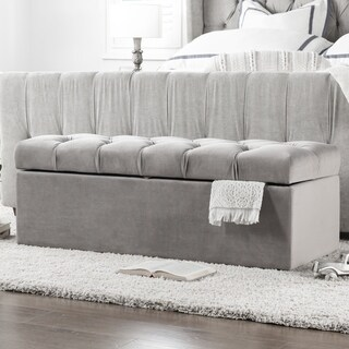 Jennifer Taylor Arlo Tufted Storage Bench