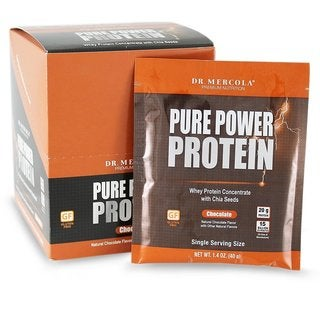 Dr. Mercola Chocolate Pure Power Protein (8 Packets)