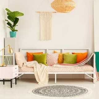 Easy Set-up Daybed, Sturdy and Durable Steel Slats|https://ak1.ostkcdn.com/images/products/18049197/P24213861.jpg?impolicy=medium