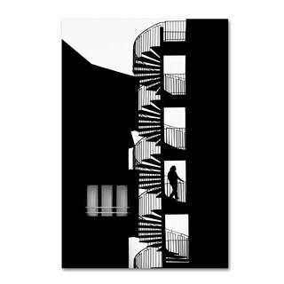 Massimo Della Latta 'Silhouette' Canvas Art