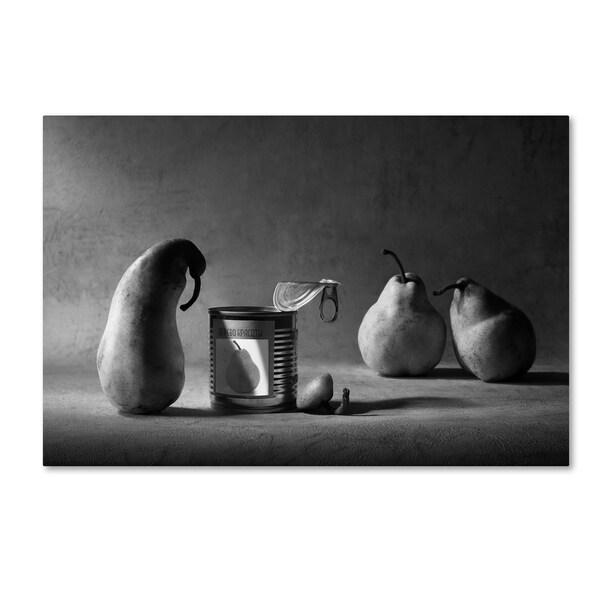 Victoria Ivanova 'The Canned Friend ' Canvas Art