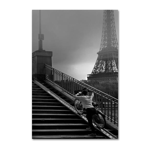 Sol Marrades 'Eiffel' Canvas Art