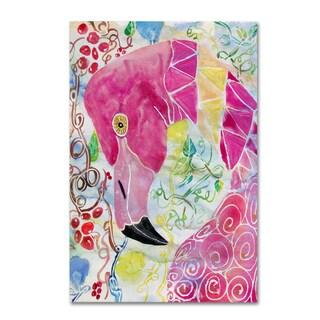 Lauren Moss 'Pinky' Canvas Art