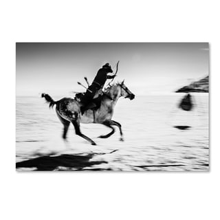 Murat Yilmaz 'Horseman' Canvas Art