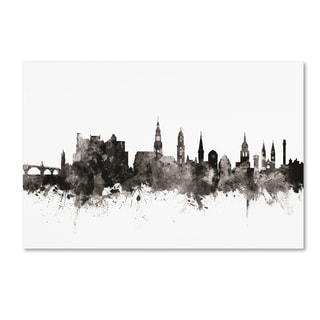 Michael Tompsett 'Heidelberg Germany Skyline I' Canvas Art