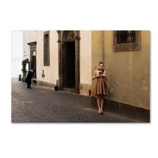 Massimo Della Latta 'Doll' Canvas Art