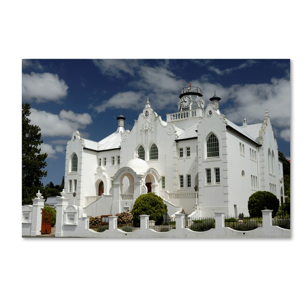 Robert Harding Picture Library 'White Church' Canvas Art