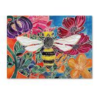 Lauren Moss 'Oh Honey Bee' Canvas Art