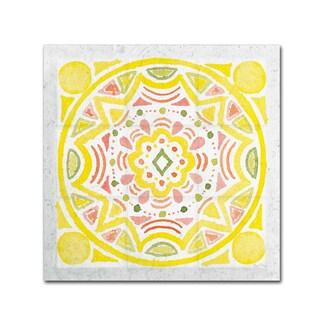 Elyse DeNeige 'Citrus Tile II v2' Canvas Art