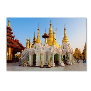 Robert Harding Picture Library 'Temple 1' Canvas Art