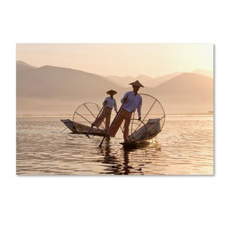 Robert Harding Picture Library 'Fishing Boats 2' Canvas Art