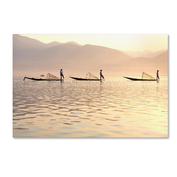 Robert Harding Picture Library 'Fishing Boats 1' Canvas Art
