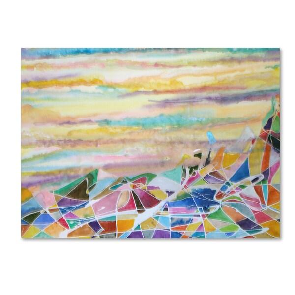 Lauren Moss 'Puncak Jaya' Canvas Art