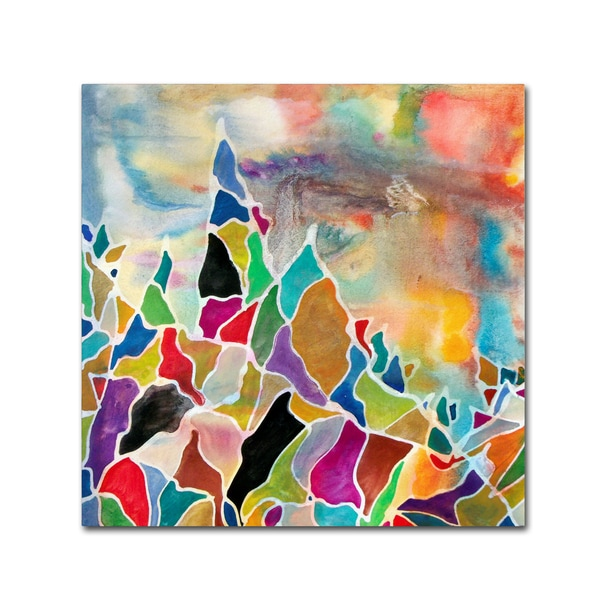 Lauren Moss 'Mount Waddington' Canvas Art